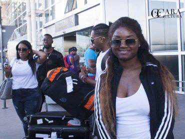 Edmazia chegou a Maputo para o Festival Tropical Zouk serena, tranquila e discreta