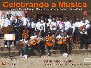Recital de Guitarra Clássica e Canto Coral Escola de Música Mungu Camões – Centro Cultural Português em Maputo