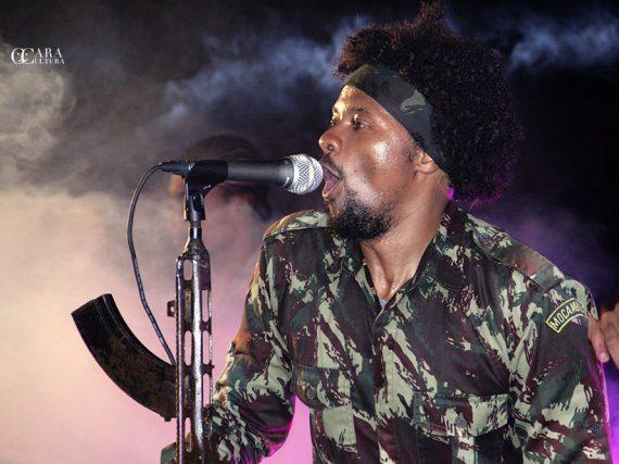Azagaia deu um show espectacular no Parque Marginal em comemoração aos 10 anos do álbum Babalaze
