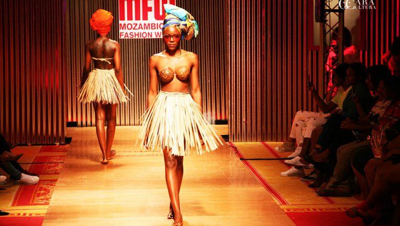 Quando o palco se abriu os artistas mostraram-se no Mozambique Fashion Week Edição 2017