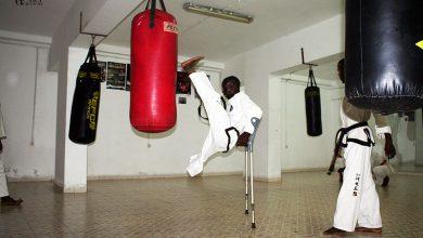 Uma dupla Campeã Africana de taekwondo , mas anónima em Moçambique