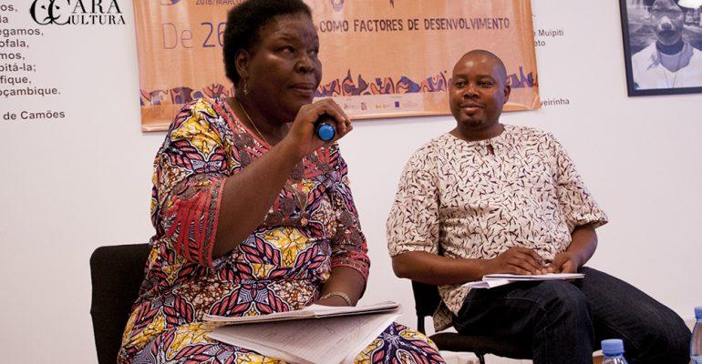 Paulina Chiziane diz coisas feias sobre os jornalistas culturais no II seminário sobre a matéria