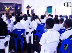Casa da cultura da cidade de Maputo lança ano cultural perante uma audiência de estudantes