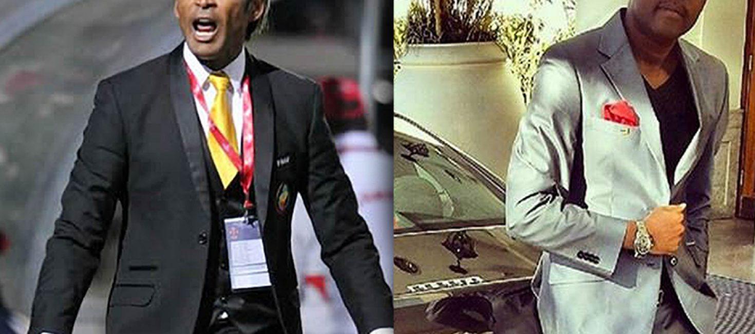O Músico Mc Roger e o Treinador da selecção nacional Abel Xavier são irmãos siameses