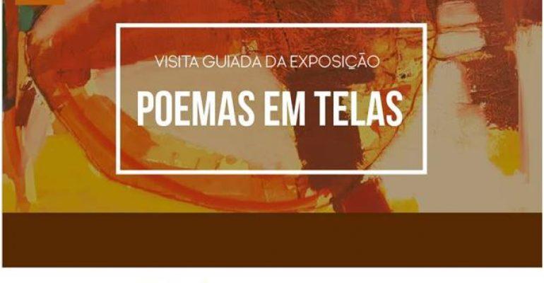Visita guiada da exposição Poemas em Telas no CCBM, entrada gratuita a não perder