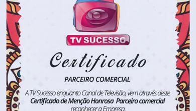 DDB MOÇAMBIQUE RECEBE CERTIFICADO DE HONRA NA GALA DA TVSUCESSO