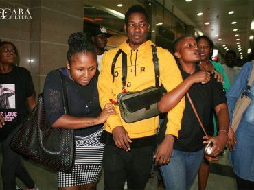 Cef chegou a Maputo para o Festival Zouk e mostrou humildade e respeito aos seus fans