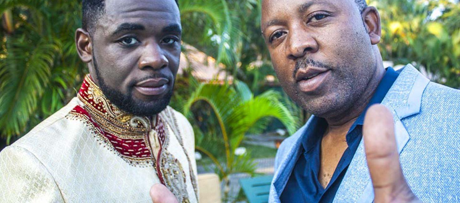 General Muzka grava vídeo clip em Maputo para projectar Mr. Lover