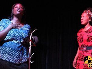 Grupo de Teatro Girassol levou a performance de Nkatikulone ao Brasil