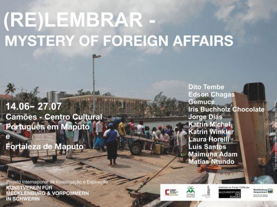 Inauguração 14 de junho: às 17h00 na Fortaleza de Maputo e às 18h30 no Camões – Centro Cultural Português em Maputo