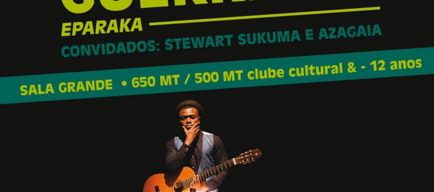 Não perca O Show do Deltino Guerreiro no Centro Cultural Franco Moçambicano
