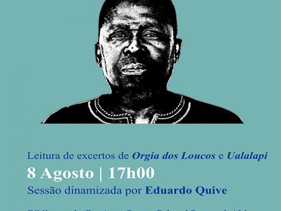 Centro Cultural Português em Maputo dedica o mês de agosto ao escritor moçambicanoUngulani Ba Ka Khosa