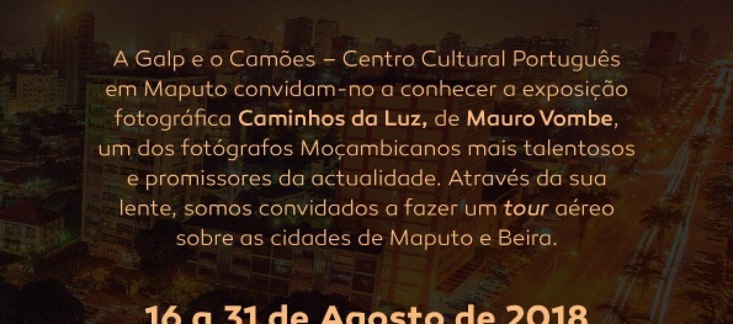 Exposição Caminhos de Luz, uma apresentação do fotógrafo moçambicano Mauro Vombe