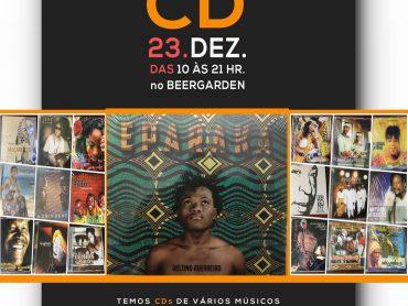Para o Dia do CD, artista desta semana é o  Deltino Guerreiro, venha comprar o seu