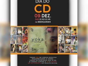Dia do CD Apresenta este Domingo no Beergarden,  Yoka Chiconela