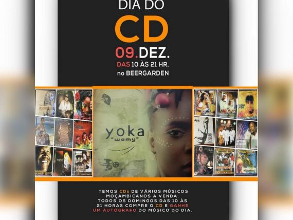 Dia do CD Apresenta este Domingo no Beergarden,  Yoka Chiconela